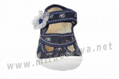 Тапочки для девочки ViGGaMi Julia Druk синие