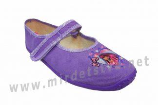 Тапочки для девочки Zetpol Marysia fiolet 131