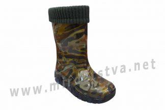Резиновые сапоги для мальчика Demar Stormer Lux Print N 0033