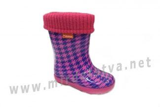 Резиновые сапоги для девочки Demar Hawai Lux Print HF 0048