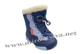 Сапоги зимние для мальчика Demar Snow Mar C 4017 синие