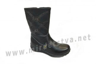 Сапоги для девочки Milania ET-507-27 черные