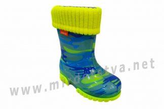 Резиновые сапоги детские Demar Twister Lux Fluo D 0034