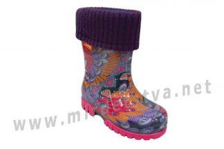 Резиновые сапоги для девочки Demar Twister Lux Print M 0038