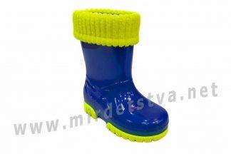 Резиновые сапоги детские Demar Twister Lux Fluo A 0034