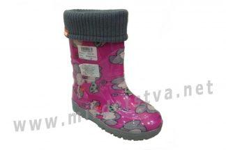 Резиновые сапоги для девочки AlisaLine Color 301 Мышки розовые