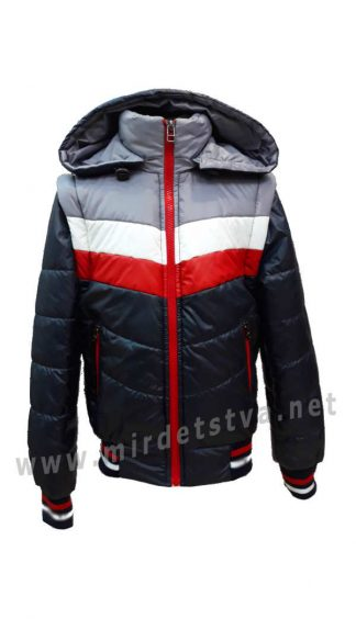 Куртка-жилетка демисезонная для мальчика Nestta Maxx 05