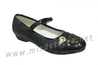 Туфли школьные для девочки Kellaifeng KLF-TZ121-1