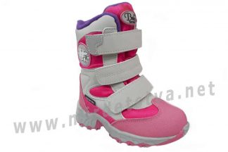 Ботинки для девочки B&G термо RAY165-204