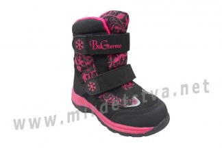 Ботинки для девочки B&G термо RAY175-28