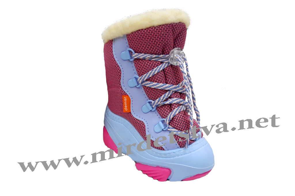Купить Сапоги для девочки Demar Snow Mar A 4017 в Харькове по лучшей ... fb5b5b8681e16