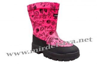 Сапоги зимние для девочки Demar Swen-M G 1630 розовые