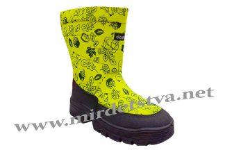 Сапоги зимние для девочки Demar Swen-M E 1630 желтые