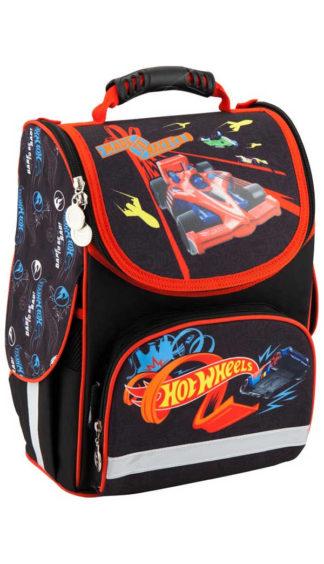 Каркасный ортопедический рюкзак Kite Hot Wheels HW18-501S-1