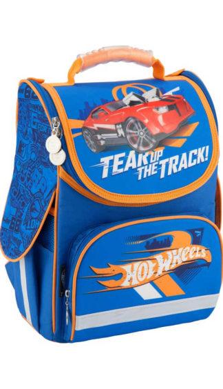 Рюкзак для мальчика каркасный Kite Hot Wheels HW18-501S-2