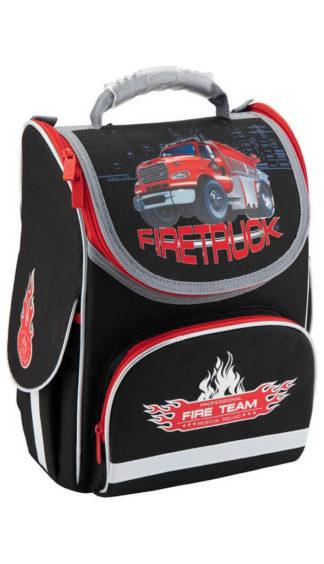 Школьный каркасный рюкзак Kite Firetruck K18-501S-1