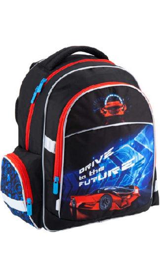 Школьный ранец для мальчика Kite Super car K18-510S-2