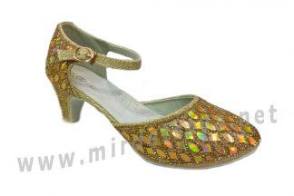 Туфли для девочки Леопард Х307-17