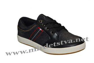 Кеды джинсовые B&G VB1731-9028C черного цвета
