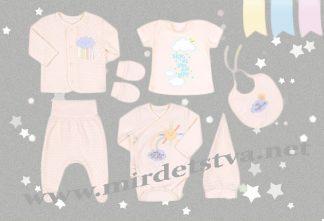 Комплект для новорожденных Бемби КП182 в подарочной красивой упаковке