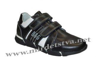 Кроссовки для мальчика B&G BG60316-374 черного цвета