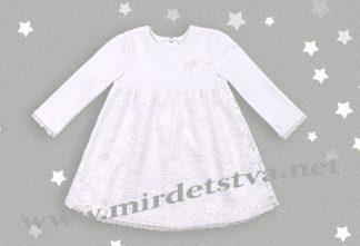 Платье для крестин на девочку Бемби ПЛ191