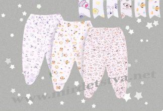 Ползунки для новорожденного Бемби ПЗ1 с закрытыми ножками