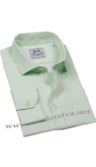 Рубашка для мальчика BoGi 001.001.0252.38 ментолового цвета