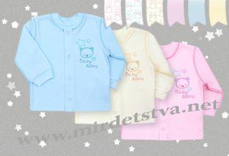 Рубашка для новорожденного Бемби РБ19