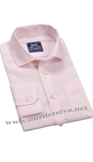 Школьная рубашка BoGi 001.001.0252.44 персиковая
