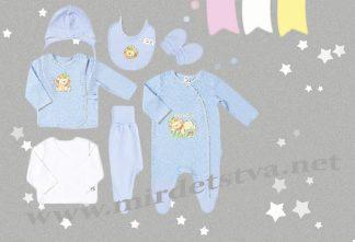 Детский комплект Бемби КП9 с вышивкой маленького львенка