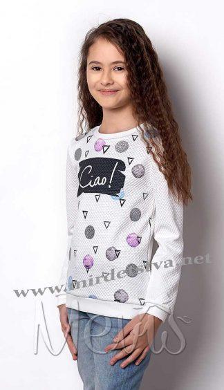 Джемпер нарядный для девочки Mevis 2380-03