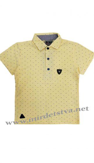 Футболка-поло для мальчика Cegisa 6036 желтого цвета