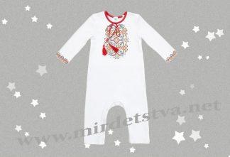 Комбинезон-вышиванка для малышей Бемби КБ98