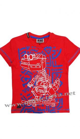 Красная футболка для мальчика Cegisa 5935