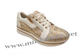 Кроссовки для девочки Tops 730-21 3D золото