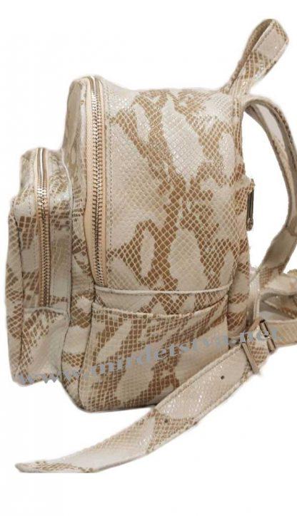 Кожаный рюкзак детский Tops рептилия