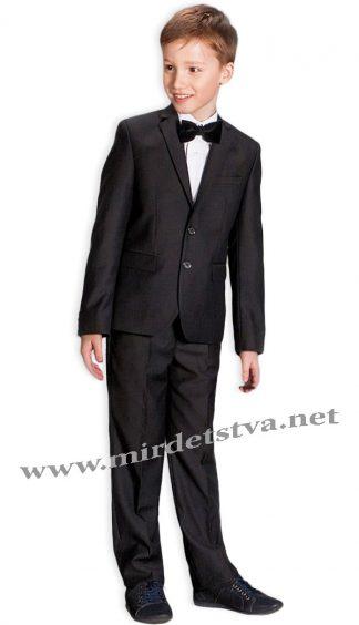 Школьные брюки для мальчика Новая форма Mark 09.2 черного цвета