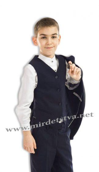 Жилет школьный для мальчика KidsCouture 717116006