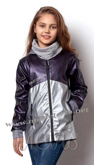Демисезонная куртка на девочку Mevis 7002-01