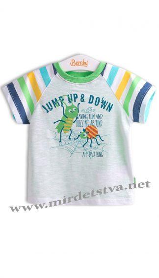 Яркая футболка на мальчика Бемби ФБ539