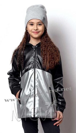 Демисезонная курточка для девочки Mevis 7002-03