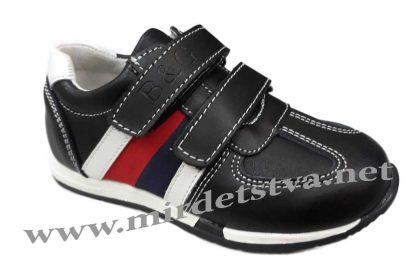 Кожаные кроссовки на мальчика B&G BG180-421