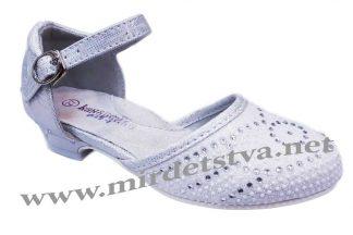 Нарядные туфли на каблуке Канарейка В0122-1