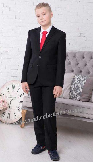 Школьный костюм Новая форма Tomas 70/3.2 черный