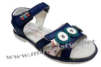 Босоножки для девочки Канарейка F298-3 синие