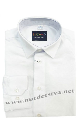 Белая рубашка INGVAR 9002