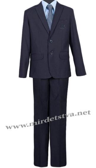 Черный костюм для школьника Bozer 24/5-Ч H-4