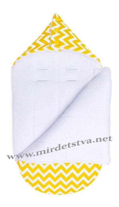 Демисезонный конверт для младенца Большая сахара LC Goforkid 1330-202-910-2