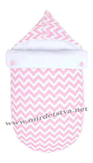 Конверт-одеяло для младенца Пинк LC Goforkid 1330-202-993-1